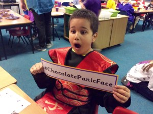 Percy Main Primary Chocolate Disaster!
