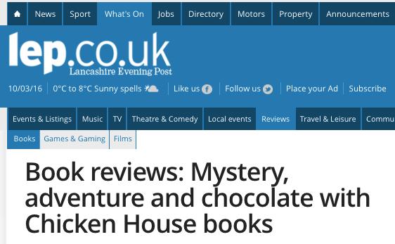 Independant Book Reviews – Chris Callaghan