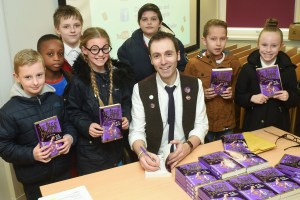 The Great Chocoplot, Chris Callaghan, Stockton Central Library, World Book Day