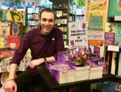 The Great Chocoplot, Chris Callaghan, Chocopocalypse, Waterstones, Durham