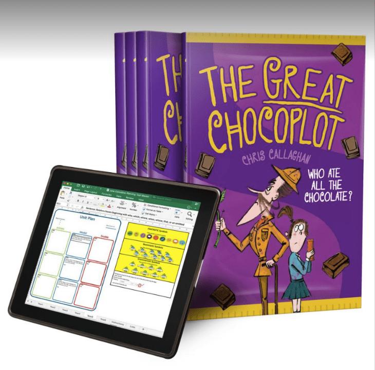 The Great Chocoplot, English Unit Plans, Year 4, Jane Considine, Chris Callaghan