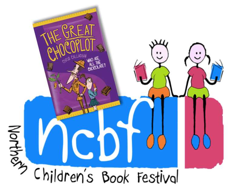 Chris Callaghan Author of The Great Chocoplot at The Northern Children's Book Festival