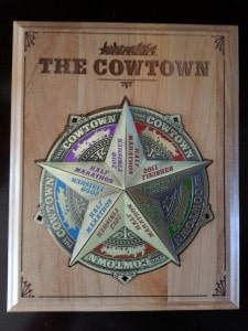 Cowtown Medals