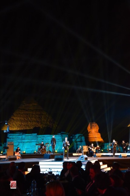 Live at the Pyramids with Omar Kamal