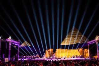 Live at the Pyramids with Omar Kamal