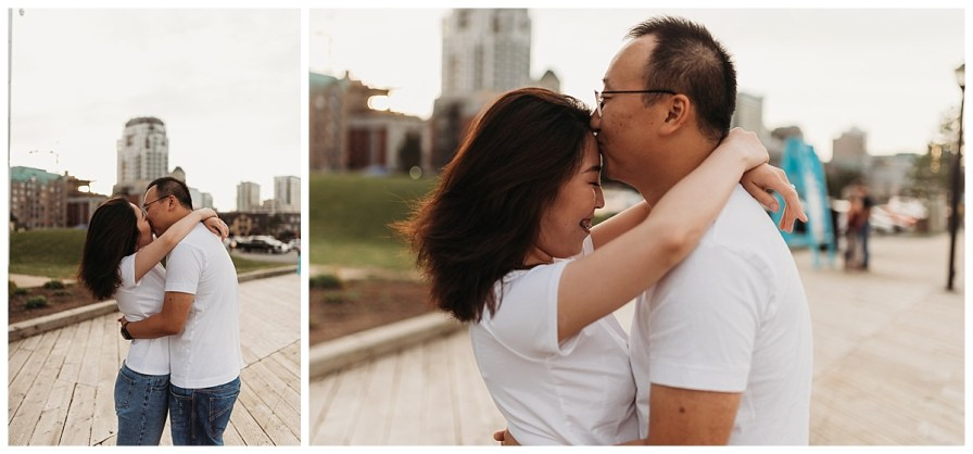 Halifax Boardwalk Waterfront Engagement Session