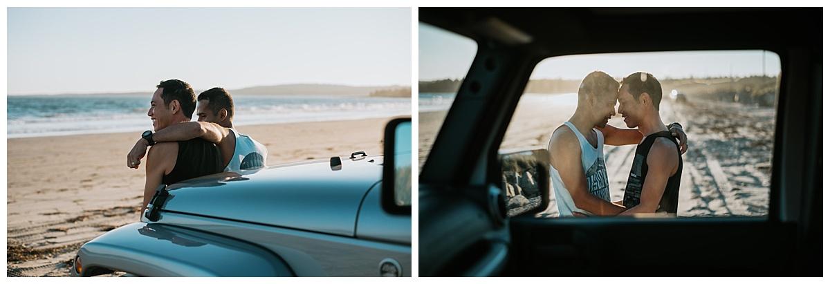 Crescent Beach Engagement Session