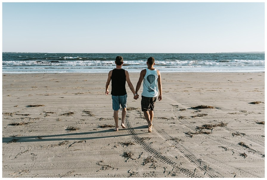 Crescent Beach Engagement Session