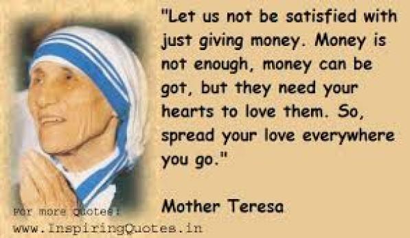 theresa money plus love