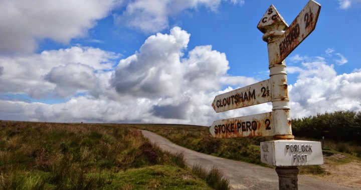 Road riding on Exmoor – a biased review