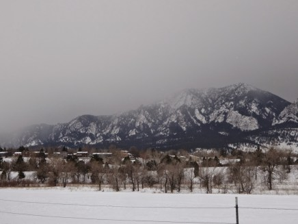 Skate Skiing in South Boulder