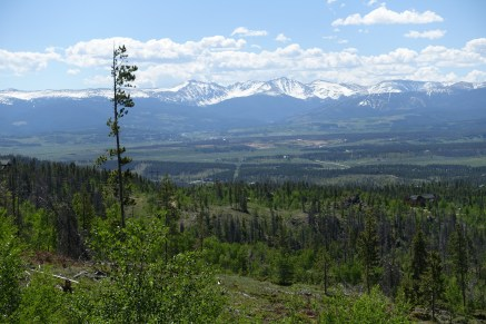 Looking at Winter Park from Granby