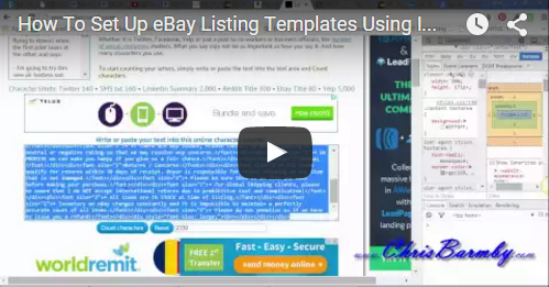 eBay Listing Templates - List Faster With These Free Templates