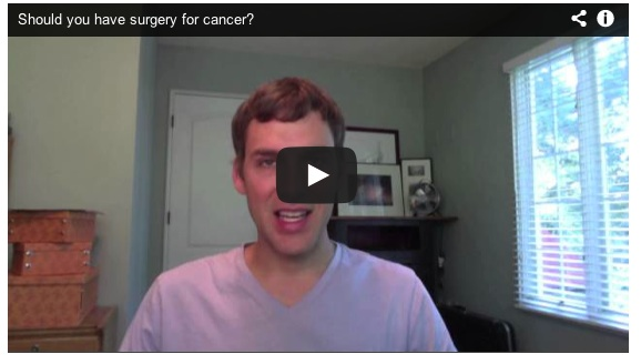 Q&A: Should you have surgery for cancer?