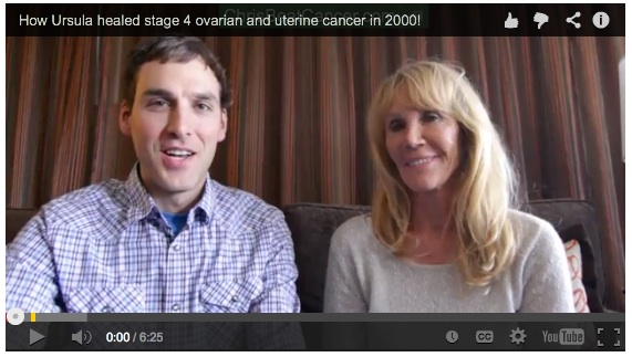 How Ursula healed stage 4 ovarian and uterine cancer naturally