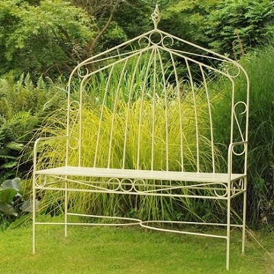 Contemporary garden furniture metal