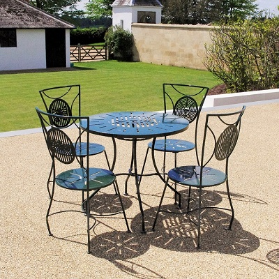 Contemporary garden furniture by Chris Bose