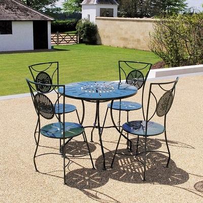 Contemporary garden furniture by Chris Bose