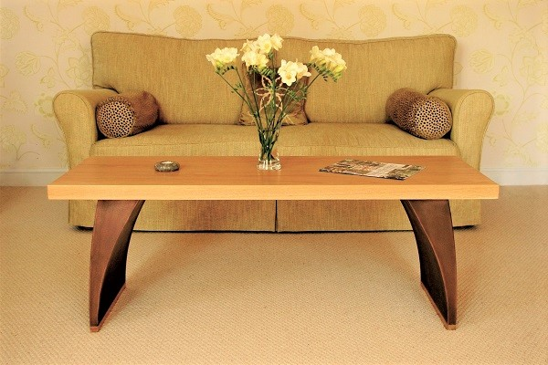 Wood coffee table - wooden furniture.