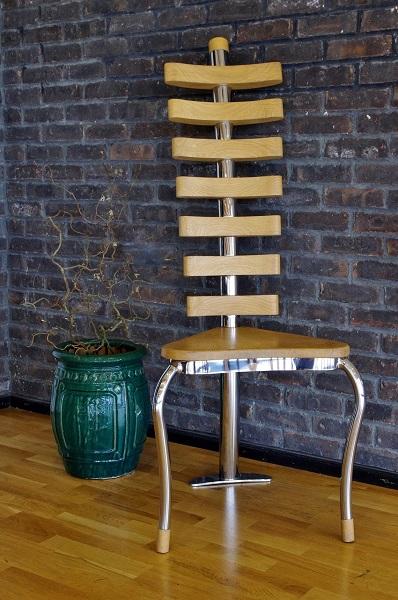 Wooden designer chair bespoke handmade luxury furniture