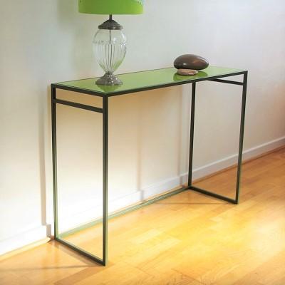 Designer console tables slim metal