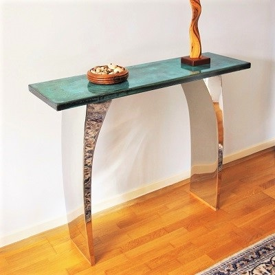 modern console tables