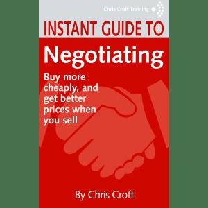 Negotiating by Chris Croft