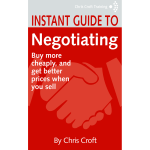 Negotiating by Chris Croft