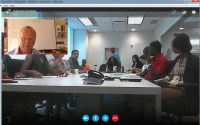 Training by Skype – 20 learners and me!