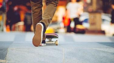 Skateboard and Vans in South Korea