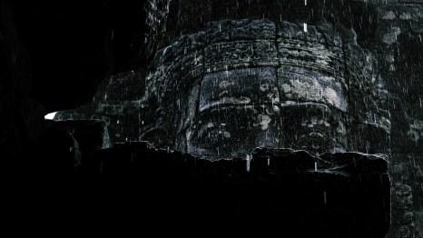 Bayon, Angkor Thom in the rain