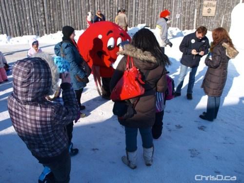 Festival du Voyageur Mascot