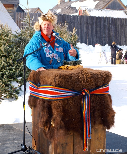 Greg Selinger Festival du Voyageur