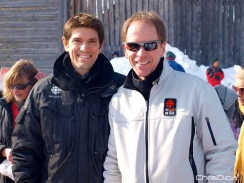 Mitch Peacock and John Sauder - CBC