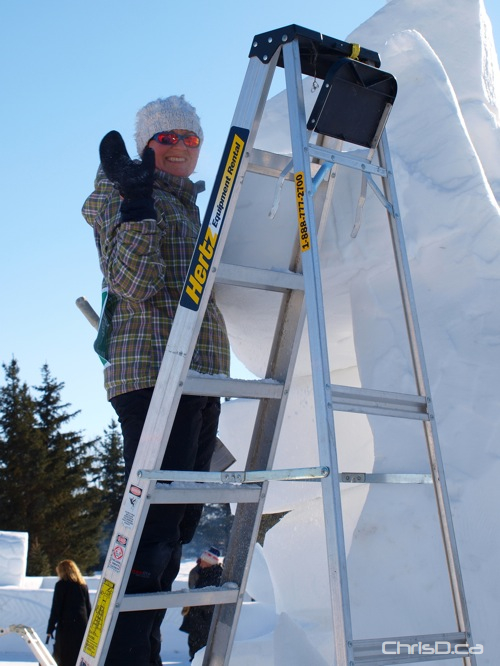 Snow Sculpter - Festival du Voyageur