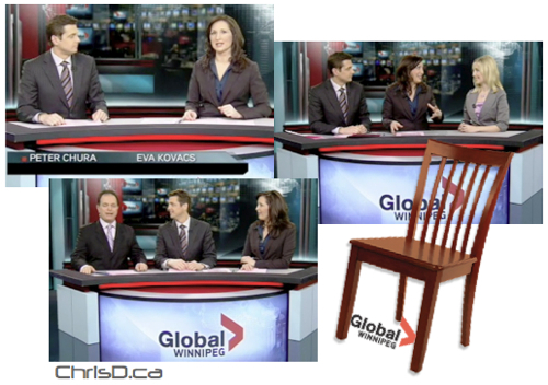 Global TV Winnipeg - Musical Chairs