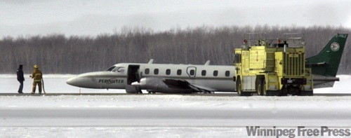 Perimeter Plane Landing