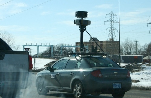 Google Street View Winnipeg