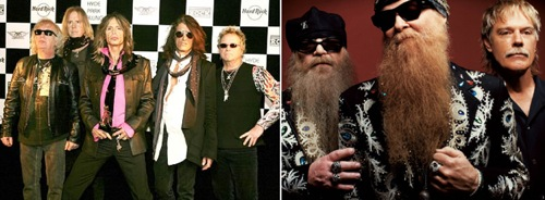 Aerosmith - ZZ Top