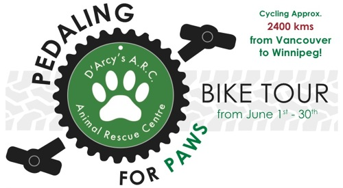 D'Arcy's ARC Pedaling For Paws