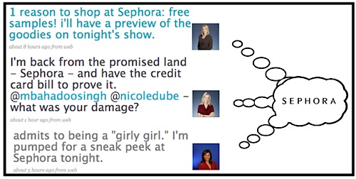 Sephora - Global TV Twitter