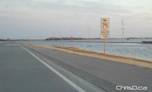 Highway 75 Manitoba