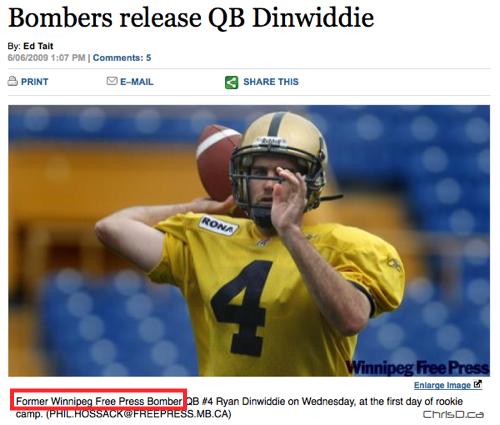 Ryan Dinwiddie - Winnipeg Free Press