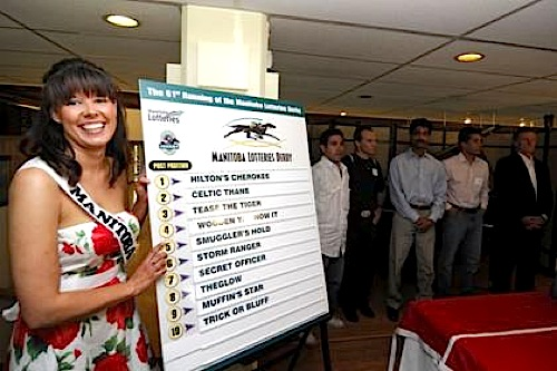 Manitoba Lotteries Derby Draw - Chelsea Obsniuk