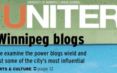 A Look at Winnipeg's Most Popular Blogs