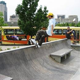 Plaza Skateboard Park - The Forks