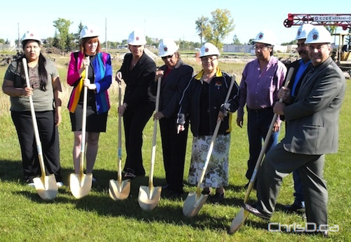 Aboriginal Personal Care Home Ground Breaking