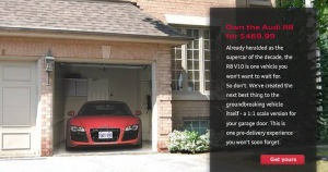 Audi Garage Art