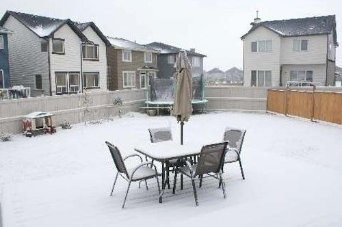 Calgary Snow - October 2009
