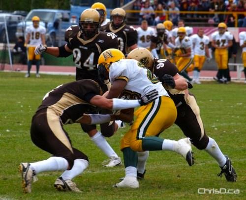 Manitoba Bison Football - Alberta Golden Bears